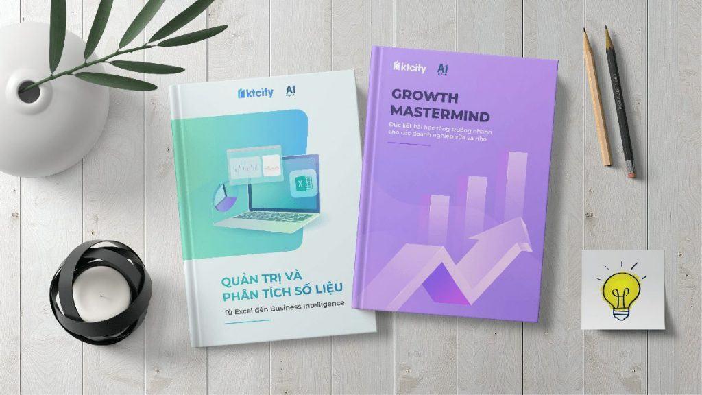 Combo 2 sách Quản trị Phân tích số liệu tăng trưởng nhanh cho SME