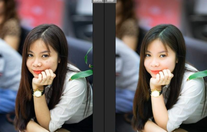 Retouch anh