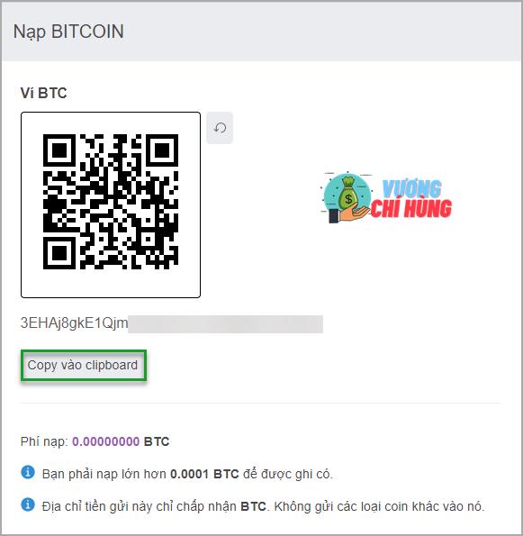 11 nap bitcoin vao vi remitano 01