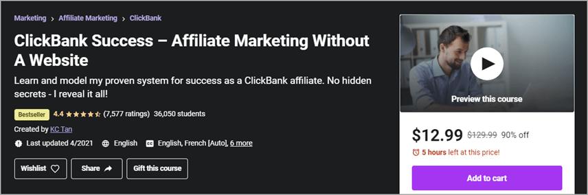 Khóa học ClickBank 02