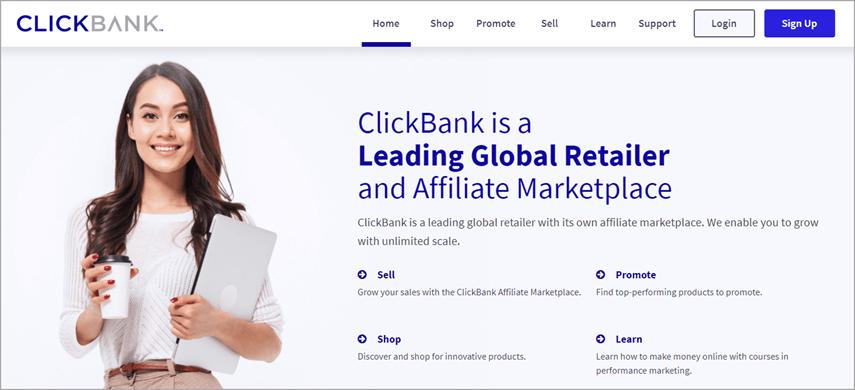 trang web clickbank