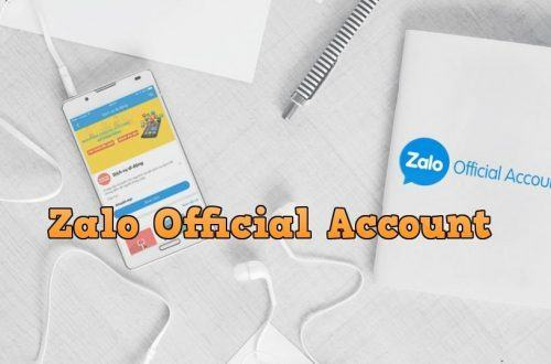 zalo page official account
