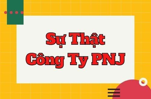 Su That Cong Ty PNJ