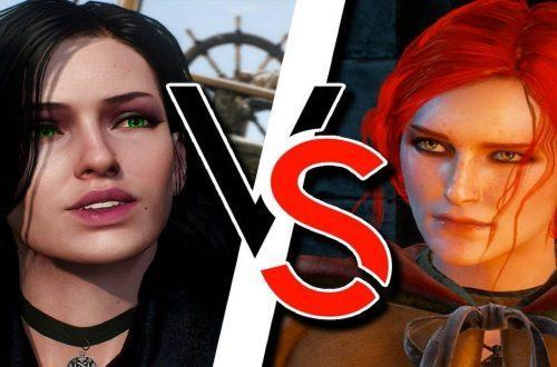 the witcher henry cavil reveals who he prefers yennefer triss